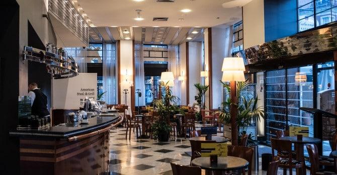 Cafe Dubrovnik Hotel Dubrovnik In Zagreb